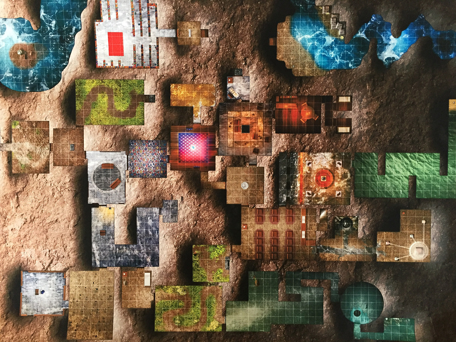 Dream of the Djinn A0 Game Map