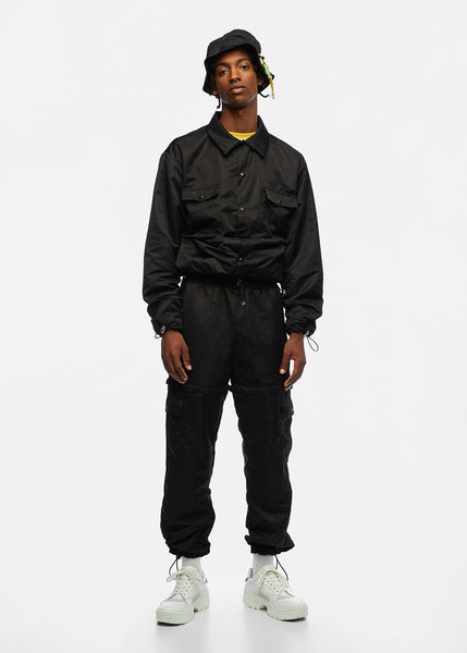 PAUL NYLON CARGO PANTS