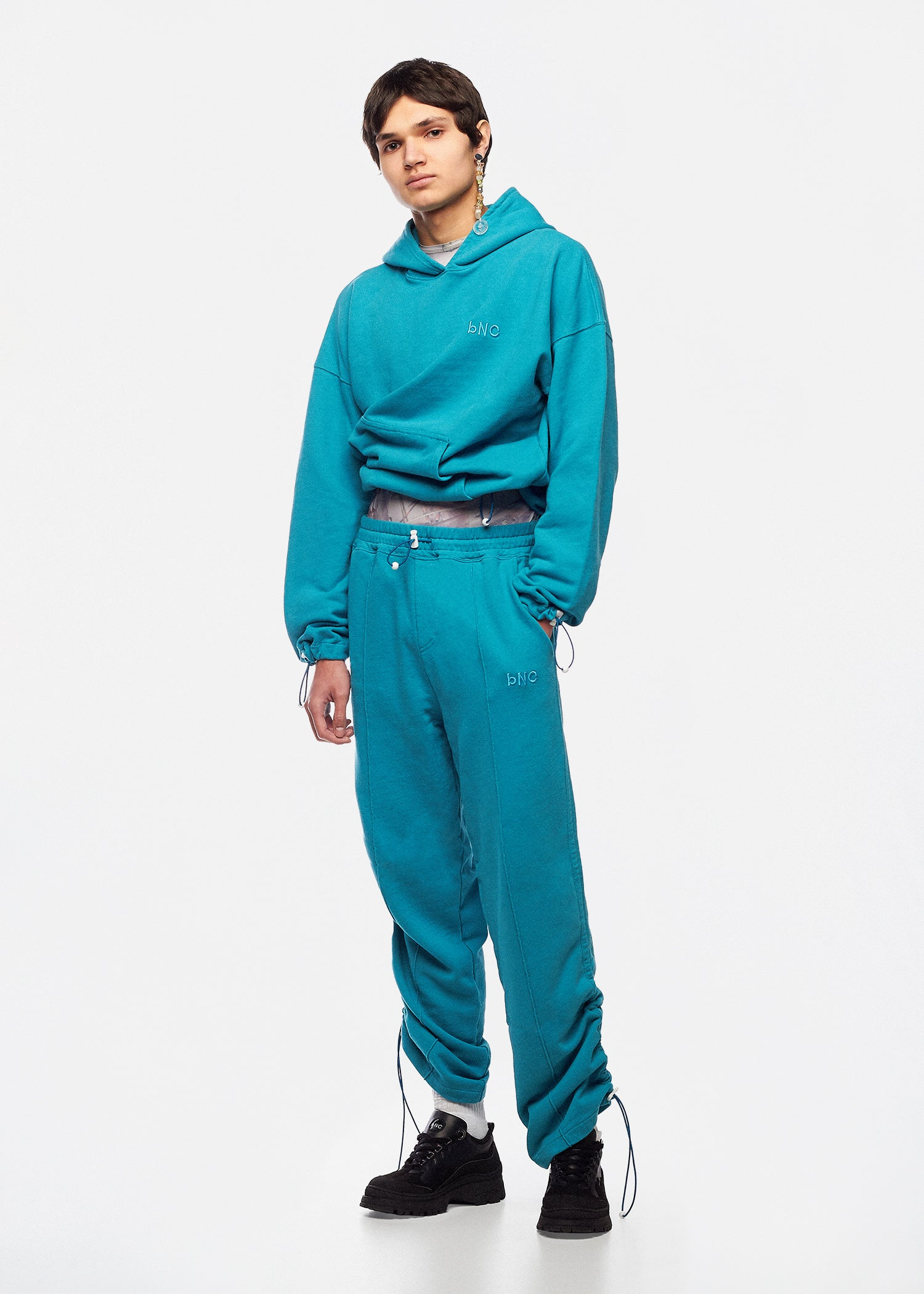 PETRUS BLUE TRACK TROUSERS