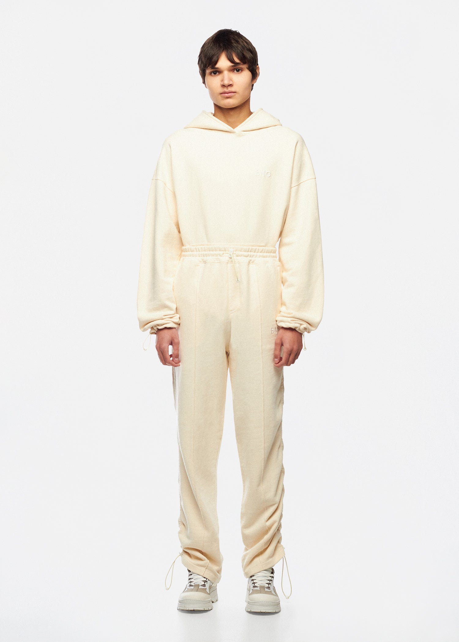 PETRUS OFF-WHITE TRACK TROUSERS