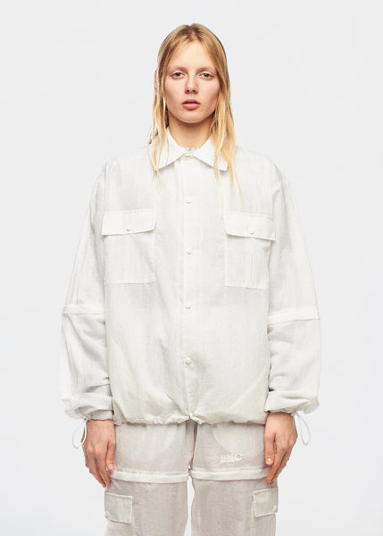 JOE WHITE NYLON JACKET