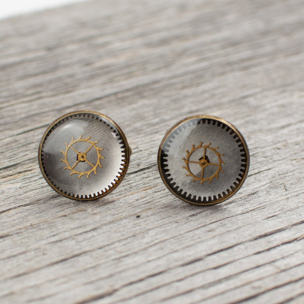 Watchpart Cufflinks - Lisa Young Design