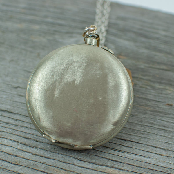 Toronto Pocket Watch Necklace - Lisa Young Design