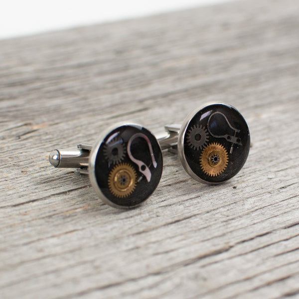 Watch part Cufflinks - Lisa Young Design