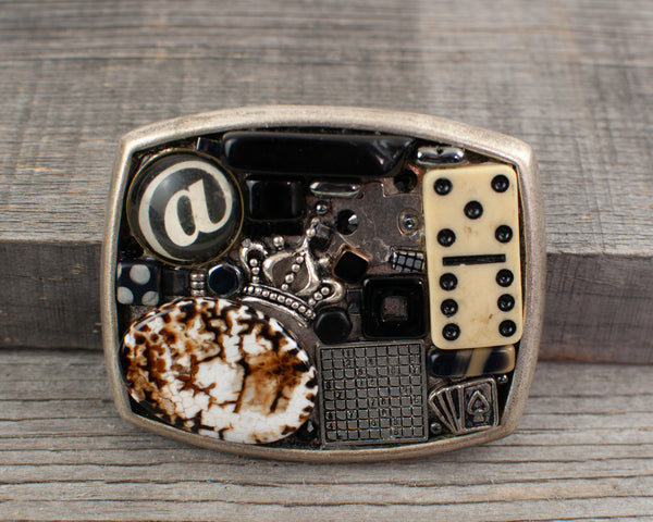 Game Theme  Belt Buckle - Lisa Young Design
