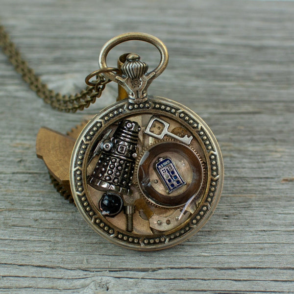 Dr Who theme Necklace - Lisa Young Design