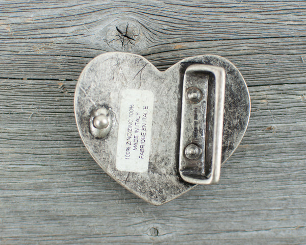 Tennis theme heart  Belt Buckle - Lisa Young Design
