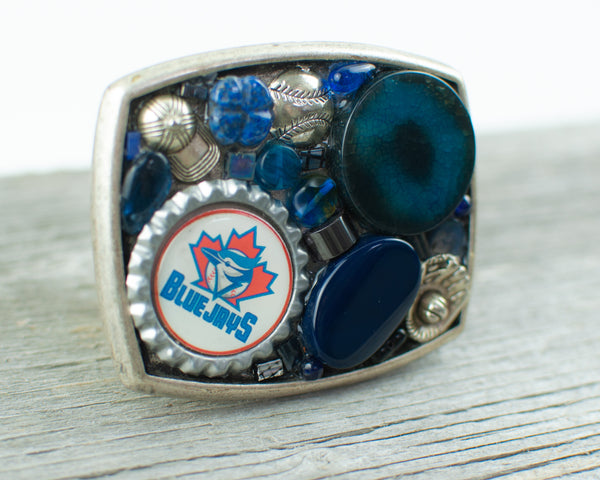 Toronto Blue Jays theme Belt Buckle - Lisa Young Design