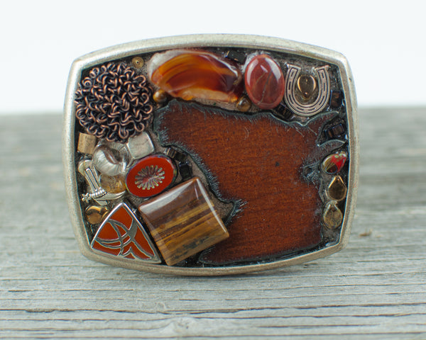 Horse  lovers theme Belt Buckle - Lisa Young Design