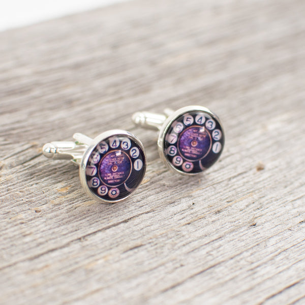Rotary Dial Cuff links - Lisa Young Design