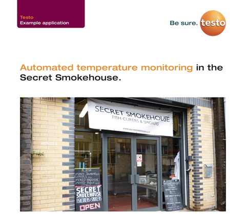 testo Saveris 2 Automated temperature monitoring in the Secret Smokehouse