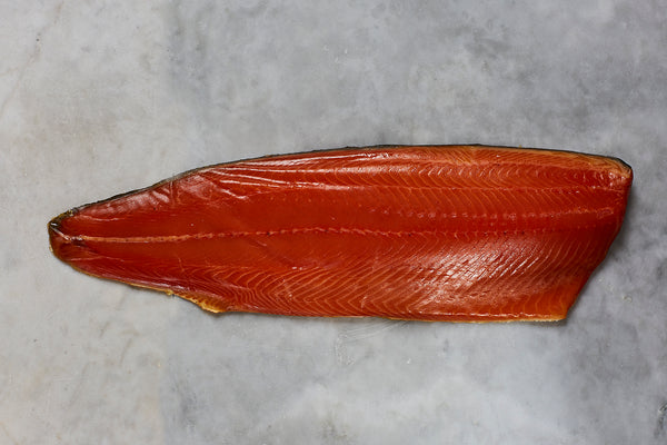 PGI Status London Cure Smoked Salmon Whole Fillet [not sliced]