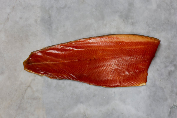London Cure Oak Smoked Trout Whole Fillet [not sliced]