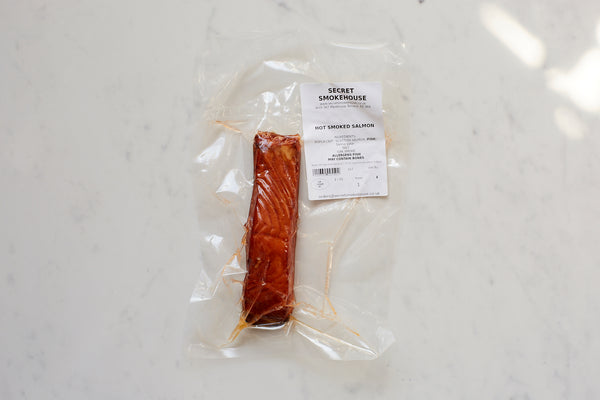 Hot Smoked Salmon 200g portion