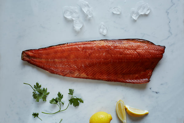 Christmas Hot-Smoked Salmon Whole Fillet
