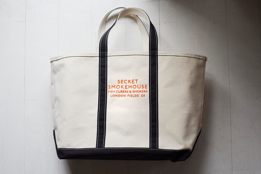 Secret Smokehouse LL Bean Canvas Tote Bag