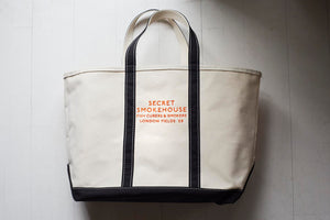 Load image into Gallery viewer, Secret Smokehouse LL Bean Canvas Tote Bag