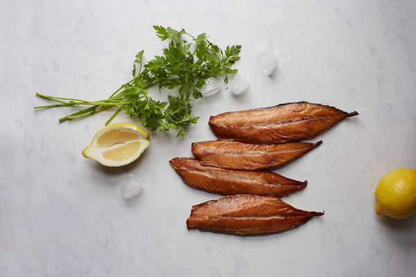 Christmas Hot-Smoked Mackerel Fillets 200g