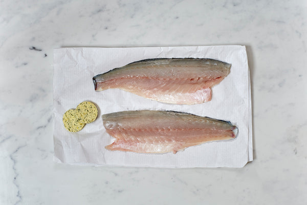 Sea bass with Lemon and Dill Butter