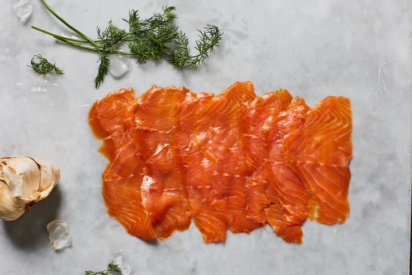 Christmas Oak Smoked Trout 200g D-Cut Pack
