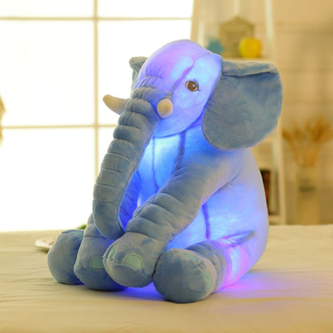 Plush Pal Blue Elephant