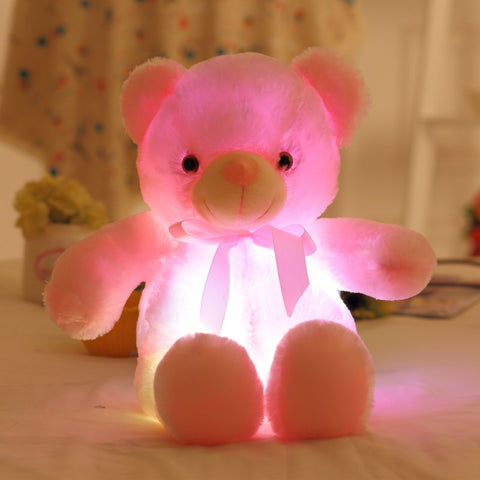 Plush Pal Teddy Bear Pink