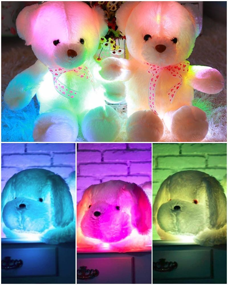 "The Plush Pals ""Light Up Stuffed Animals With Sound"""