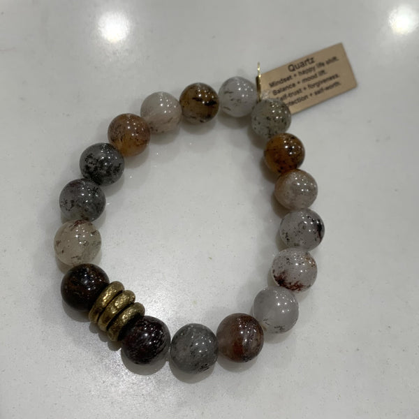 Infinite Warrior 8mm or 10mm Bracelets (Choose your stone)