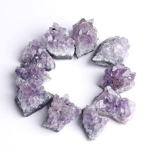 Amethyst Clusters (Sizes Vary)