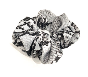 Gifts: Satin Scrunchie Hair Tie (snake print)
