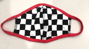 Childrens Race Car Face Mask