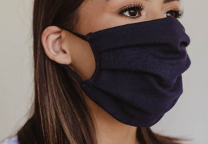 PRE-ORDER, Arriving SOON, Unisex Navy Face Mask