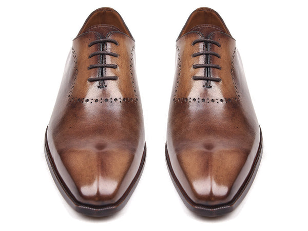Mens Oxford Shoes Antique Brown - PRO Quality