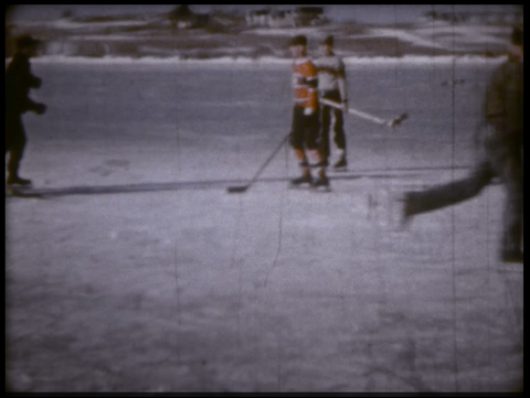 2-Pond Hockey in Canada 1960s