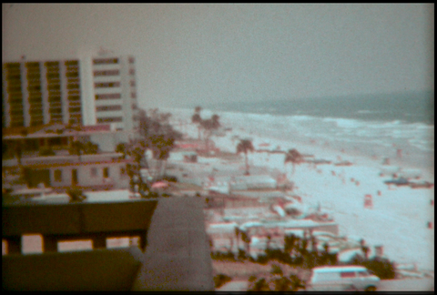 Beach Resort in Florida 1970