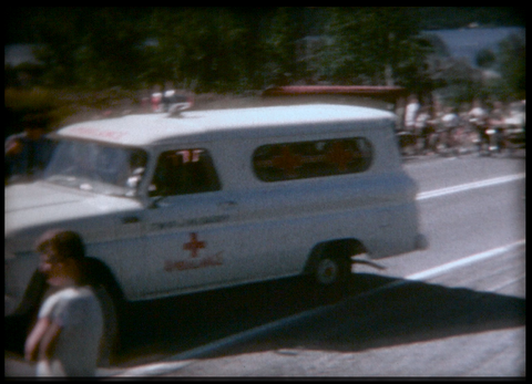 Car Accident in Larder Lake Ontario 1967