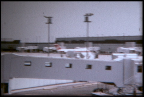 Toronto Airport and Planes 1970_A