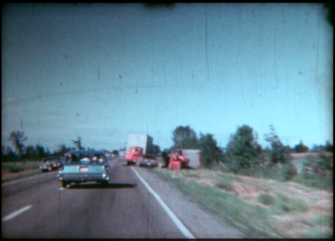 Truck & Trailer Accident on Highway 1967