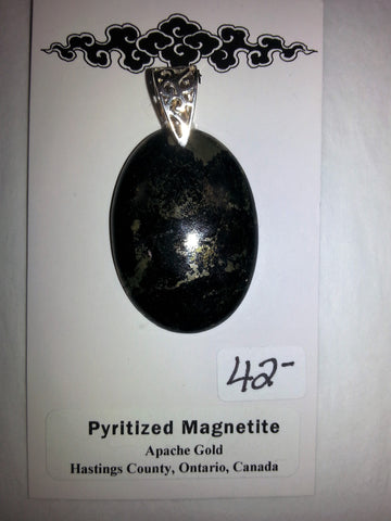 Pendant Pyritized Magnetite - Very Shari