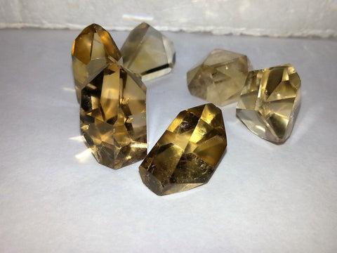 citrine points-natural - Very Shari