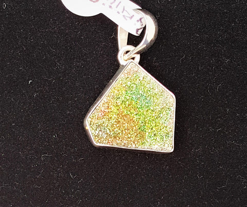 PYRITE DRUZY PENDANT - Very Shari