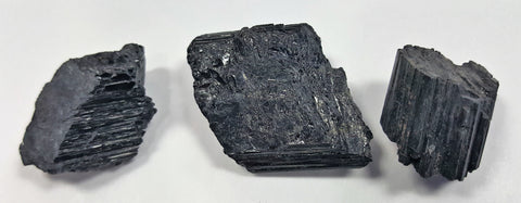 Black Tourmaline - rough - Very Shari
