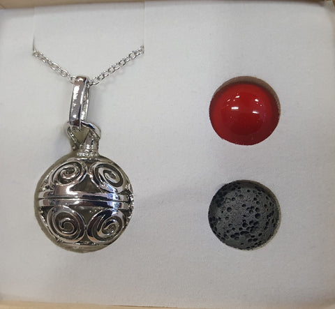Harmony Ball Pendant Set-spirals - Very Shari