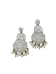 Jamie Earrings - White