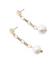 Link Pearl Earrings