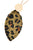 Leopard Leaf Necklace - Olive