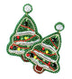 Sparkle Christmas Tree Earrings