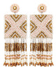 Kayla Earrings - Ivory