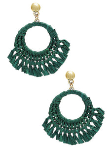Amy Earrings - Green