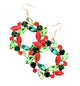 Rhinestone Christmas Wreath